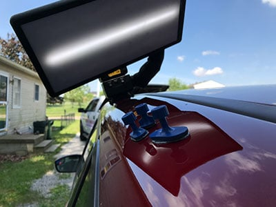 C Max Roof Rail Dent During Repair